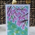 Australian Jacaranda Tree Greeting Cards