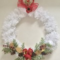 Christmas faux Hanging Wreaths