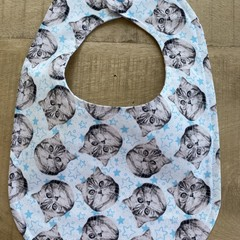 Kitty Baby Bib