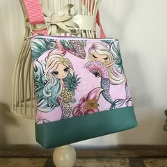 Girls Crossbody Bag - Mermaid