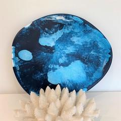 Coral Reef Resin Platter
