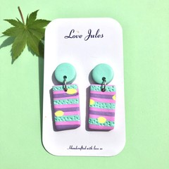 Candy stripe dangles (rectangle)