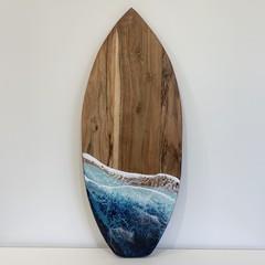 Resin Surfboard Wall Art / Cheeseboard