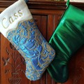 Stunning Personalized Christmas Stocking