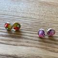 Free Postage! Resin earrings