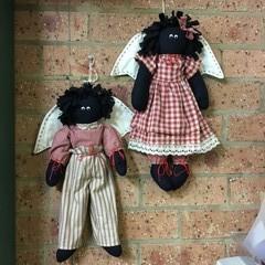 Mamee Angel Cloth Dolls
