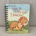 Little Golden Book Upcycled Notebook - How Do Lions Say I Love You?