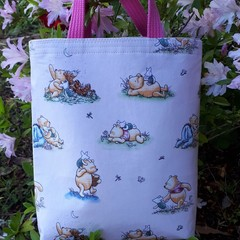 WINNIE THE POOH FABRIC BAG WITH HANDLES