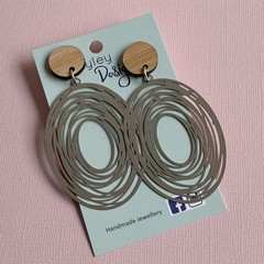 Stylish Statement Whirlpool Earrings