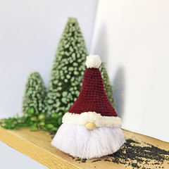 Christmas Gnome with Red Hat - Made to Order
