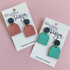 Colourful Beehive Earrings