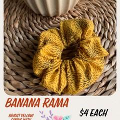 Banana Rama Scrunchie