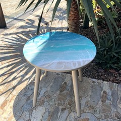 Resin Art Ocean Table