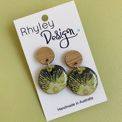 Australian Flora Statement Earrings
