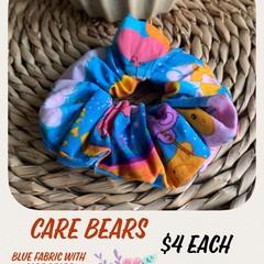 Care Bear Fabric Scrunchie