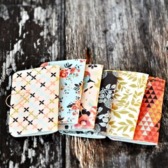 Mini Books {6} Spring Florals | Mini Notebooks | Mini Journals | Spring Blank Bo