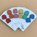 Colourful Beehive Stud Earrings