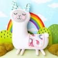 Llama plush toy, alpaca plush toy, kawaii plush animal