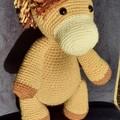 Handmade Crochet Unicorn and Horse Kids Soft Toys, Horse and Unicorn Amigurumi