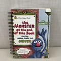 2021 Little Golden Book Upcycled Diary -  The Monster At The End Of This Book