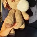 """Dallas"", Handmade Crochet Horse, Horse Softie, Horse Amigurumi"