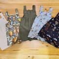 Linen summer overalls