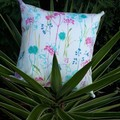 WILDFLOWER  OUTDOOR CUSHION COVER/ 45 CM X 45CM