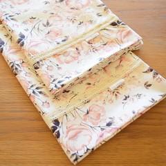 2x Matching Cotton Pillow Cases - Blush Floral