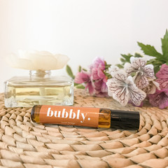Bubbly Roller ball Essential Oil - Personalised scented roller ball with orange