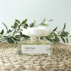 Garden Party Reed Diffuser - Personalized self care gift box-citronella&lavender