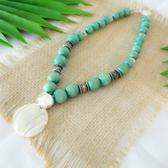 Tropical Boho Style Necklace
