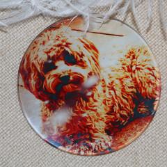 Custom made glass tile fridge magnet back, photos, words, pets, save the date, b