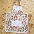 Mummy & Me Vintage Aprons - ladies size - Christmas Holly