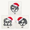 Personalised Christmas Gift Bag • Christmas Tree Ornament • People