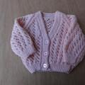 Pink baby jacket
