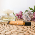 Free Roller ball Essential Oil - Personalised scented roller ball with lemon