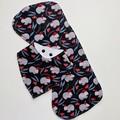 Christmas Wombat Bib & Burp Cloth Gift Set