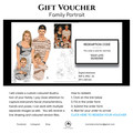 Custom Family Portrait  | GIFT VOUCHER