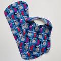 Christmas Koala Bib & Burp Cloth Gift Set