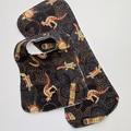 Gooloo Animals Bib & Burp Cloth Gift Set