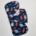 Christmas Wallaby Bib & Burp Cloth Gift Set