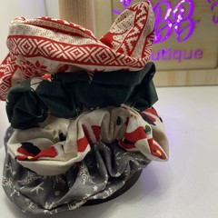 Christmas Scrunchie set #1