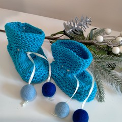 Pure Cotton Baby Booties