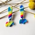 Rainbow Long Dangles