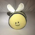 Stuffed bee soft toy