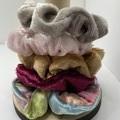 Mini Velvet Scrunchie set