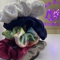 Velvet Scrunchie set