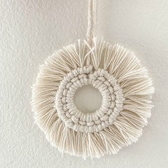 Macrame Christmas sunshine decoration