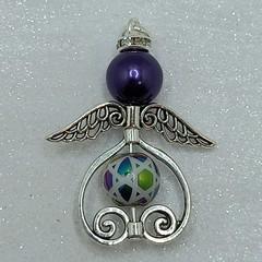 Star of David Heart Angel Beaded Decoration/Necklace Pendant