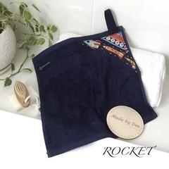 """""""ROCKETS""""  BATH WASHERS // MINI HAND TOWEL"""